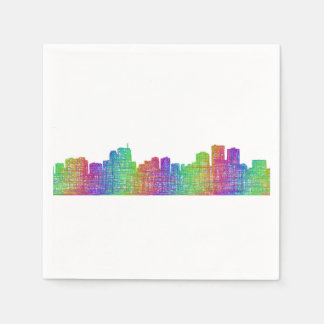 Anchorage skyline disposable napkins