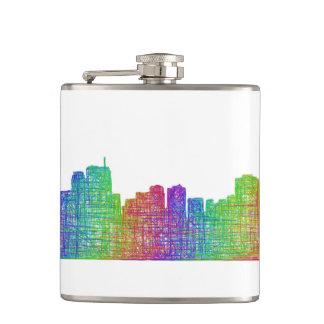 Anchorage skyline flasks