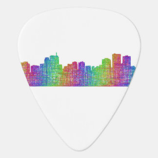 Anchorage skyline guitar pick