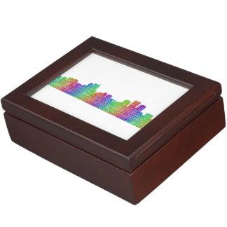 Anchorage skyline memory box