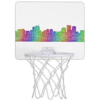 Anchorage skyline mini basketball hoop