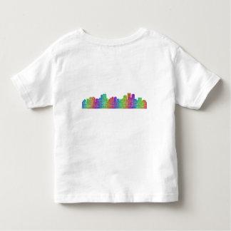 Anchorage skyline toddler t-shirt