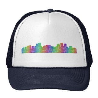 Anchorage skyline trucker hat