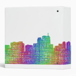 Anchorage skyline vinyl binder