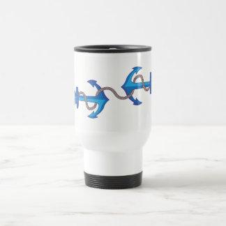 Anchored anchor travel mug