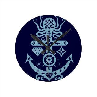 Anchored Clock