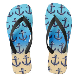 Anchored Flip Flops