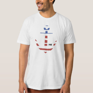 Anchored in sacrifice t-shirt