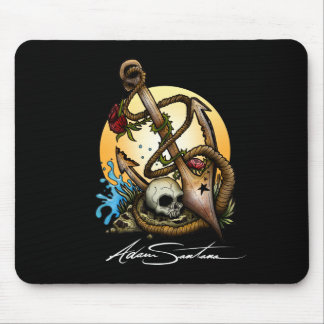 Anchored Mouse Pad