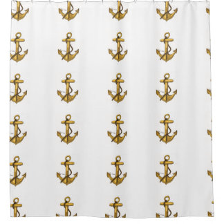 'Anchored Out' Shower Curtain