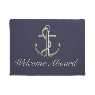Anchored Rope Doormat