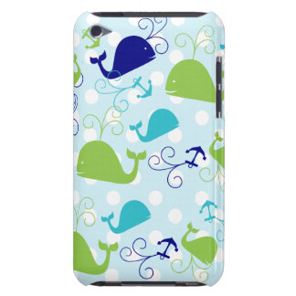 Anchors-a-Whale Barely There iPod Case