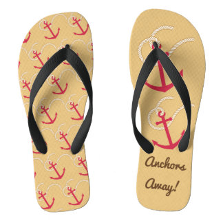 Anchors Away Flip Flops