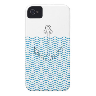 Anchor's Away! Girly Nautical Retro iPhone 4 Cover