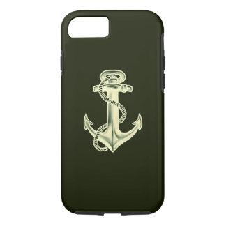 Anchors Away (Green) iPhone 7 Case