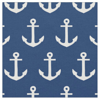 Anchors Away in Navy | Fabric