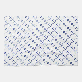 Anchors Away Kitchen Towel (Dark Print)