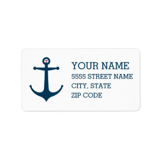 Anchors Away Label