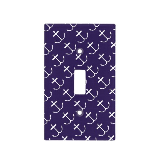 Anchors Away Light Switch Cover (Lite Print)