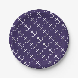 Anchors Away Paper Plates (Lite Print)