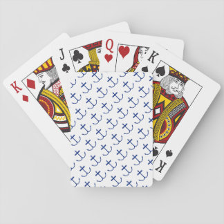 Anchors Away Playing Cards (Dark Print)