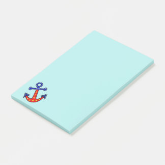Anchors Away Post-it Notes
