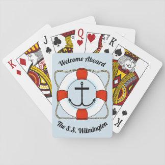 Anchors & Life Saver Playing Cards