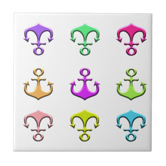 anchors of colors tile