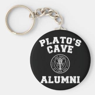 Anciennes élèves Keychain de la caverne de Platon