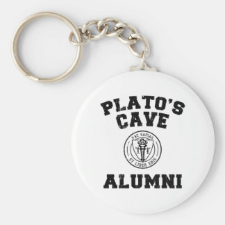 Anciennes élèves Keychain de la caverne de Platon Porte-clef