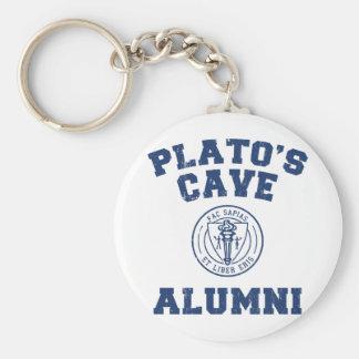 Anciennes élèves Keychain de la caverne de Platon Porte-clés