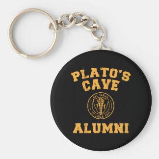 Anciennes élèves Keychain de la caverne de Platon Porte-clefs
