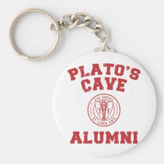 Anciennes élèves Keychain de la caverne de Platon Porte-clé