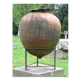 """Ancient """"Amphora"""" in Constanta, Romania Postcard"""