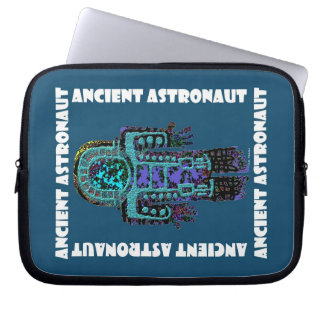 Ancient Astronaut Laptop Computer Sleeves