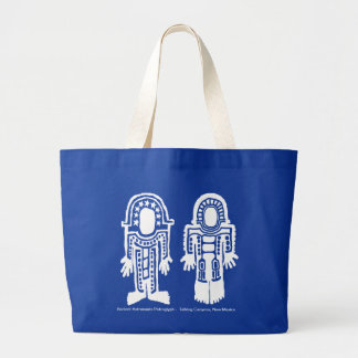 Ancient Astronaut Large Tote Bag