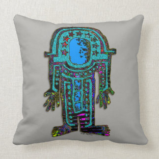 Ancient Astronaut Throw Pillow