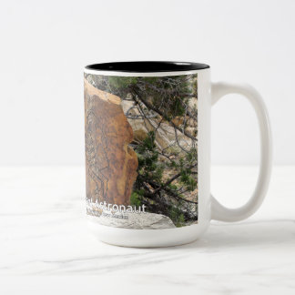 Ancient Astronaut Two-Tone Coffee Mug