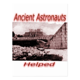 Ancient Astronauts Helped Postcard