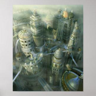 Ancient Atlantis Poster