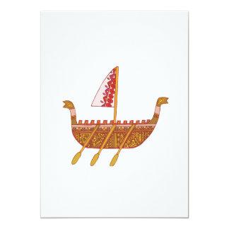 Ancient Boat Card