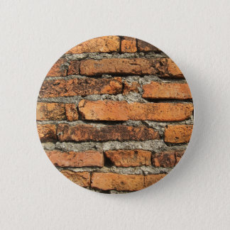 Ancient Brick Wall 2 Inch Round Button