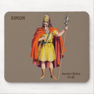 ~ Ancient Briton COSTUME ~ Personalised for SIMON~ Mouse Pad