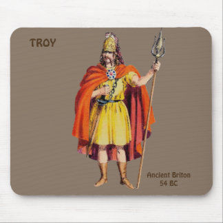 ~ Ancient Briton COSTUME ~ Personalised for TROY ~ Mouse Pad
