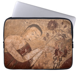 Ancient Buddhist Painting Laptop Sleeve