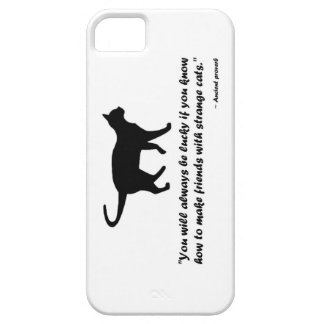 Ancient Cat Proverb Case For The iPhone 5