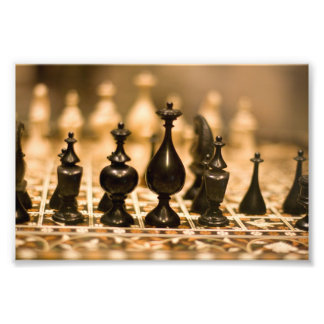 Ancient Chess Photo Print