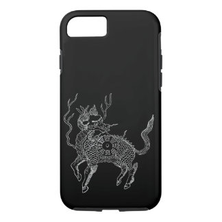 Ancient chinese auspicious dragon horse Lung Ma iPhone 7 Case