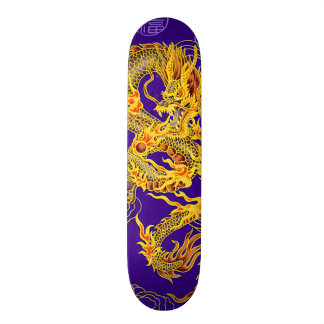 Ancient Chinese Emperor Dragon Custom Pro Board Skateboard