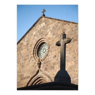 Ancient church card
